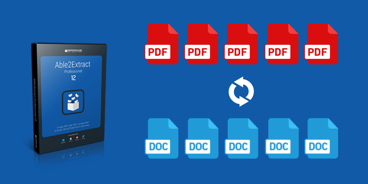 Come convertire rapidamente più file PDF in word con Able2Extract Pro12